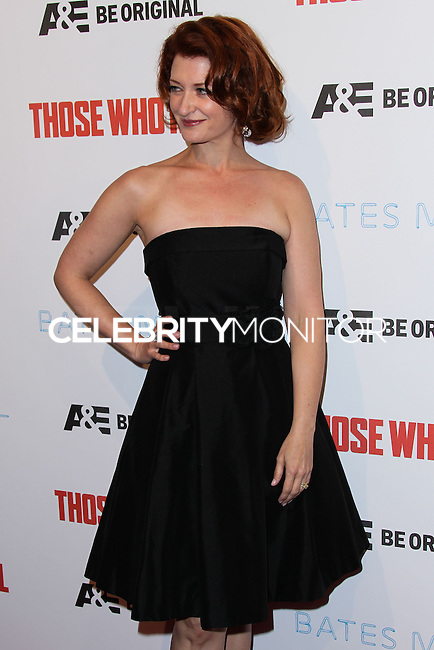 "HOLLYWOOD, LOS ANGELES, CA, USA - FEBRUARY 26: Kerry O'Malley at the Premiere Party For A&E's Season 2 Of ""Bates Motel"" & Series Premiere Of ""Those Who Kill"" held at Warwick on February 26, 2014 in Hollywood, Los Angeles, California, United States. (Photo by Xavier Collin/Celebrity Monitor)"