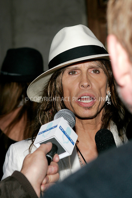 WWW.ACEPIXS.COM . . . . .....May 9, 2008. Los Angeles, CA....Musician Steven Tyler of Aerosmith arrives at the 4th Annual MusiCares MAP Fund Benefit Concert at The Music Box...  ....Please byline: Joe West - ACEPIXS.COM..... *** ***..Ace Pictures, Inc:  ..Philip Vaughan (646) 769 0430..e-mail: info@acepixs.com..web: http://www.acepixs.com