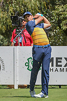 Sergio Garcia (ESP) watches his tee shot on 13 during round 1 of the World Golf Championships, Mexico, Club De Golf Chapultepec, Mexico City, Mexico. 3/1/2018.<br /> Picture: Golffile | Ken Murray<br /> <br /> <br /> All photo usage must carry mandatory copyright credit (&copy; Golffile | Ken Murray)