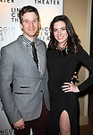 Brad Fleischer & girlfriend attending the Broadway Opening Night After Party for The Lincoln Center Theater Production of 'Golden Boy' at the Millennium Broadway in New York City on December 6, 2012