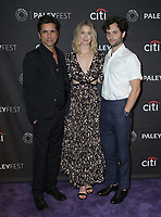 09 September 2018 - Beverly Hills, California - John Stamos, Elizabeth Lail, Penn Badgley. &quot;You&quot; at The Paley Center For Media's 2018 PaleyFest Fall TV Previews held at The Paley Center for Media . <br /> CAP/ADM/PMA<br /> &copy;PMA/ADM/Capital Pictures