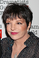 Liza Minnelli attends The Dramatists Guild Fun's 50th Anniversary Gala at the Mandarin Oriental in New York, 03.06.2012...Credit: Rolf Mueller/face to face /MediaPunch Inc. ***FOR USA ONLY***