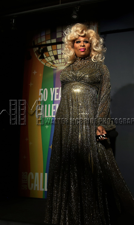 Peppermint during the GLOW: 50 Years of Callen-Lorde at Union Park on May 31, 2019  in New York City.