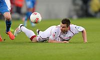 Fussball 1. Bundesliga 2012/2013: Relegation  Bundesliga / 2. Liga  TSG 1899 Hoffenheim  - 1. FC Kaiserslautern          23.05.2013 Alexander Baumjohann (1. FC Kaiserslautern)