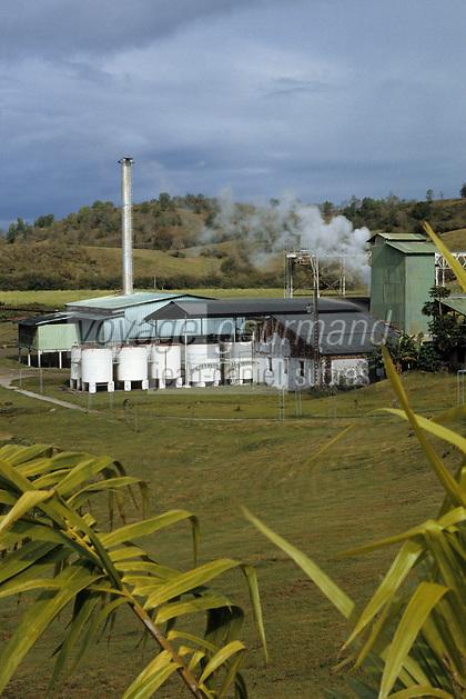 France/DOM/Martinique/Sainte-Luce/Distillerie Trois-Rivières: La distillerie