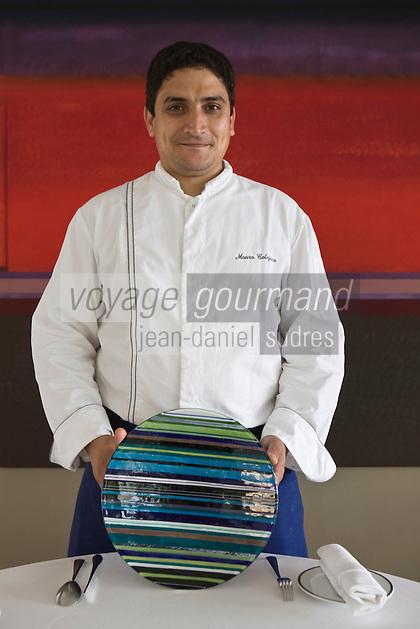 Europe/France/Provence-Alpes-Côte d'Azur/06/Alpes-Maritimes/ Menton: Mauro Colagreco chef du Restaurant: Mirazur [Non destiné à un usage publicitaire - Not intended for an advertising use]