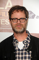 Rainn Wilson at Film Independent's 2012 Los Angeles Film Festival Premiere of AFFRM & Participant Media's 'Middle Of Nowhere' at Regal Cinemas L.A. Live on June 20, 2012 in Los Angeles, California. © mpi35/MediaPunch Inc. NORTEPOTO.COM<br />
