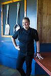 Chef Heather Love of Cow, Pig, Bun Restaurant in Kihei, Maui, Hawaii, USA