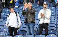 Blackburn Rovers fans applaud their team at the final whistle <br /> <br /> Photographer Kevin Barnes/CameraSport<br /> <br /> The EFL Sky Bet Championship - Blackburn Rovers v Huddersfield Town - Saturday 19th October 2019 - Ewood Park - Blackburn<br /> <br /> World Copyright © 2019 CameraSport. All rights reserved. 43 Linden Ave. Countesthorpe. Leicester. England. LE8 5PG - Tel: +44 (0) 116 277 4147 - admin@camerasport.com - www.camerasport.com