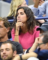 FLUSHING NY- AUGUST 31: Xisca Perello is sighted watching Rafael Nadal Vs Andreas Seppi on Arthur Ashe Stadium at the USTA Billie Jean King National Tennis Center on August 31, 2016 in Flushing Queens. Credit: mpi04/MediaPunch