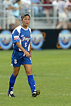 11 June 2003: Tiffany Roberts. The Carolina Courage defeated the Washington Freedom 3-0 at SAS Stadium in Cary, NC in a regular season WUSA game..Mandatory Credit: Scott Bales/Icon SMI