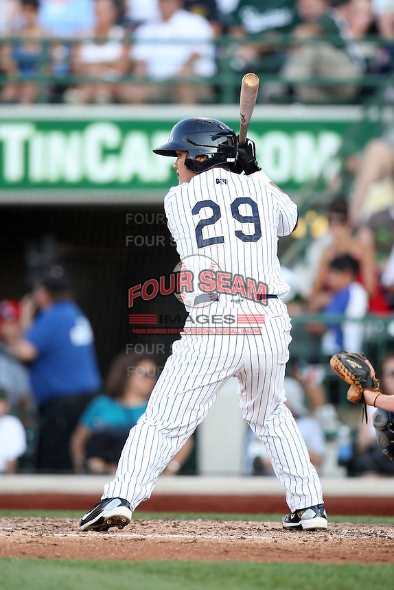 Lake County Captains Chun Chen during the Midwest League All Star Game at Parkview Field in Fort Wayne, IN. June 22, 2010. Photo By Chris Proctor/Four Seam Images