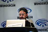 Chase Friedman at Wondercon in Anaheim Ca. March 31, 2019