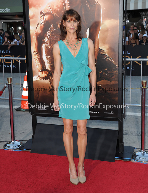 Alexandra Paul  at The Universal Pictures' World Premiere of Riddick held at The Westwood Village in Westwood, California on August 28,2013                                                                   Copyright 2013 Hollywood Press Agency