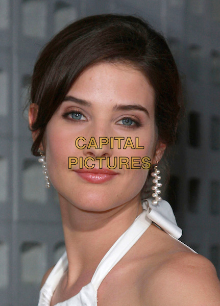 "COBIE SMULDERS .""Harold and Kumar Escape From Guantanamo Bay"" Los Angeles Premiere held at the ArcLight Cinerama Dome Theatre, Hollywood, California, USA, 17 April 2008..portrait headshot white pearl bead earrings.CAP/ADM/`CH.©Charles Harris/Admedia/Capital PIctures"