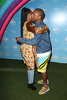 LOS ANGELES, CA - AUGUST 10: Kelly Rowland, Pharrell Williams, at the Netflix Series Premiere Of True And The Rainbow Kingdom at the Pacific Theatres at The Grove in Los Angeles, California on August 10, 2017. <br /> CAP/MPI/FS<br /> &copy;FS/MPI/Capital Pictures