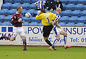 24/10/2009  Copyright  Pic : James Stewart.sct_jspa18_kilmarnock_st_johnstone  . :: ALAN MAIN RUSHES OUT OF HIS BOX TO CLEAR ONLY TO SEE THE BALL FALL TO KEVIN KYLE WHO KNOCKED THE BALL INTO THE EMPTY NET :: .James Stewart Photography 19 Carronlea Drive, Falkirk. FK2 8DN      Vat Reg No. 607 6932 25.Telephone      : +44 (0)1324 570291 .Mobile              : +44 (0)7721 416997.E-mail  :  jim@jspa.co.uk.If you require further information then contact Jim Stewart on any of the numbers above.........