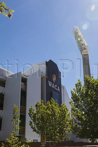 15th December 2017, The WACA, Perth, Australia; The Ashes Series, third test, day 2, Australia versus England; Home of West Australian cricket, the WACA
