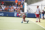 AMSTELVEEN - Liam Sanford (Eng)  during the poulematch England v Germany (men) 3-4,Rabo Eurohockey Championships 2017.  WSP COPYRIGHT KOEN SUYK