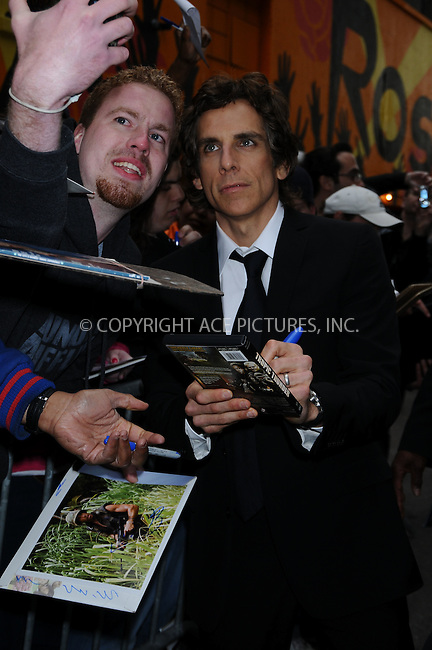 WWW.ACEPIXS.COM . . . . .  ....May 18 2009, New York City....Actor Ben Stiller made an appearance at the 'Late Show with David Letterman' at the Ed Sullivan Theatre on May 18 2009 in New York City....Please byline: AJ Sokalner - ACEPIXS.COM..... *** ***..Ace Pictures, Inc:  ..tel: (212) 243 8787..e-mail: info@acepixs.com..web: http://www.acepixs.com