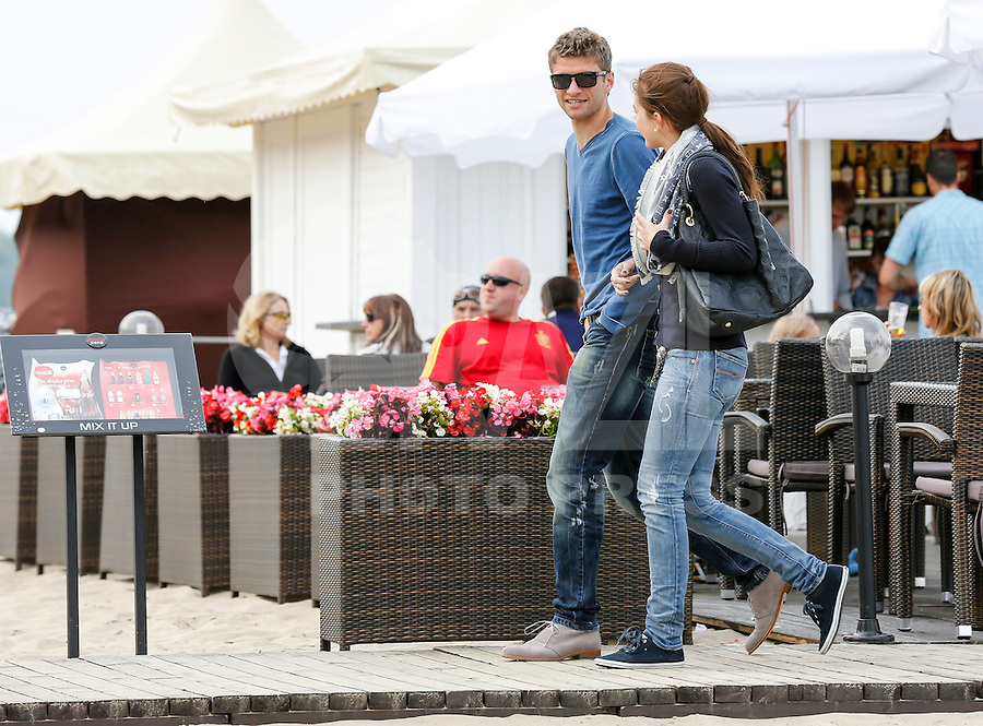 Football: EURO 2012, National Team Germany, Gdansk, 24.06.2012<br />
