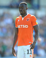 Blackpool's Joe Dodoo<br /> <br /> Photographer Kevin Barnes/CameraSport<br /> <br /> The EFL Sky Bet League One - Wycombe Wanderers v Blackpool - Saturday 4th August 2018 - Adams Park - Wycombe<br /> <br /> World Copyright &copy; 2018 CameraSport. All rights reserved. 43 Linden Ave. Countesthorpe. Leicester. England. LE8 5PG - Tel: +44 (0) 116 277 4147 - admin@camerasport.com - www.camerasport.com