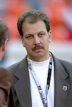 8 May 2004: Columbus Crew General Manager Jim Smith. DC United tied the Columbus Crew 1-1 at RFK Stadium in Washington, DC during a regular season Major League Soccer game..