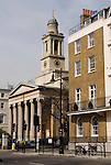 St Peters Church, Eaton Square,  Belgravia, City of Westminster, London SW1 England. 2006 .