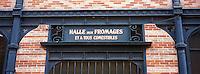 Europe/France/89/Bourgogne/Yonne/Sens: Le marché couvert, détail de l'entrée