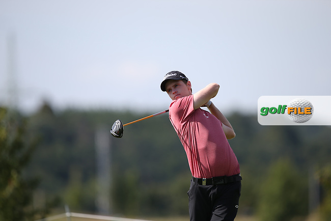 Kevin Phelan (IRL) carded a 73 during Round Three of the D&D Real Czech Masters 2014 from the Albatross Golf Resort, Vysoky Ujezd, Prague. Picture:  David Lloyd / www.golffile.ie