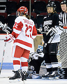 The Boston University Terriers defeated the Providence College Friars 5-3 on Saturday, November 14, 2009, at Agganis Arena in Boston, Massachusetts.