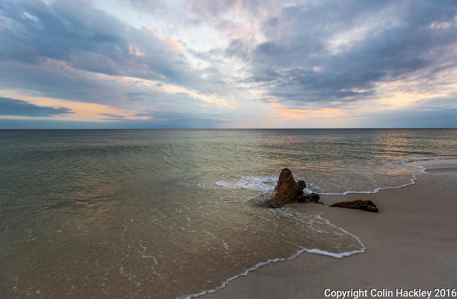 CAPE SAN BLAS, FLA. 4/15/16-Just after sunset at T. H. Stone Memorial St. Joseph Peninsula State Park on Cape San Blas, Fla.<br /> <br /> COLIN HACKLEY PHOTO