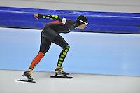 SCHAATSEN: HEERENVEEN: 20-12-2013, IJsstadion Thialf, KKT Trainingswedstrijd, 3000m, Carien Kleibeuker, ©foto Martin de Jong