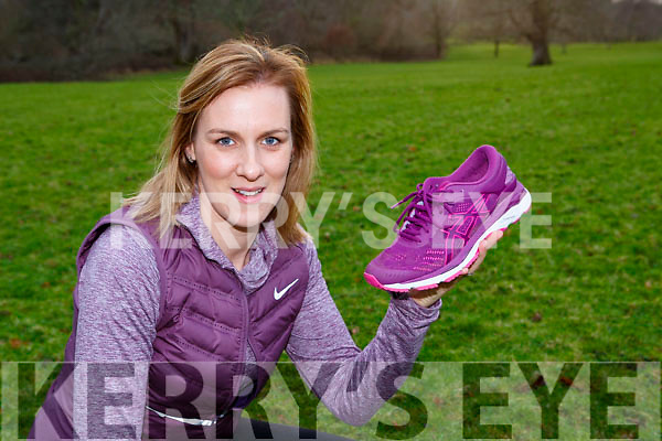 Catriona Murphy Killarney who is running the London marathon on April 22nd for the Irish Cancer Society