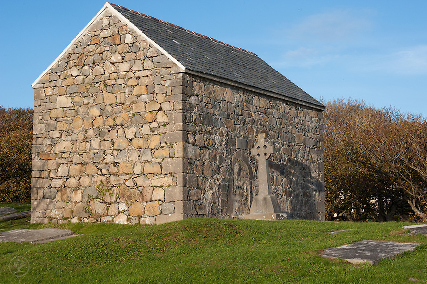 The Church at Spiddal on a sunny afternoon.