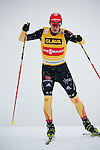 HOLMENKOLLEN, OSLO, NORWAY - March 16: Eric Frenzel of Germany (GER) during the cross country 15 km (2 x 7.5 km) competition at the FIS Nordic Combined World Cup on March 16, 2013 in Oslo, Norway. (Photo by Dirk Markgraf)