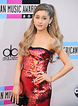 LOS ANGELES, CA - NOVEMBER 24: Ariana Grande  arrives at   The 2013 American Music Awards held at Nokia Live in Los Angeles, California on November 24,2013                                                                               © 2013 Hollywood Press Agency