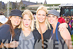 Listowel ladies l-r: Lynn Murphy, Stacie Norgrove, Claire Naughton and Lesley Loughnane at the Pussycat Dolls Concert in Fitzgerald Stadium Killarney on Saturday