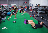 USWNT Gym Training, June 3, 2015