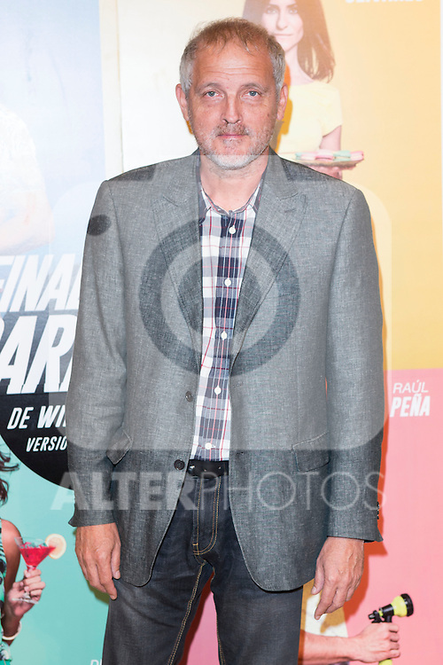 "Jordi Rebello attends the Premiere of the Theater Play ""Al Final de la carretera"" at Fenan Gomez Theatre in Madrid, Spain. October 7, 2014. (ALTERPHOTOS/Carlos Dafonte)"