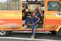 Uncle Drew (2018)<br /> LilRel Howery as &quot;Dax&quot; <br /> *Filmstill - Editorial Use Only*<br /> CAP/KFS<br /> Image supplied by Capital Pictures