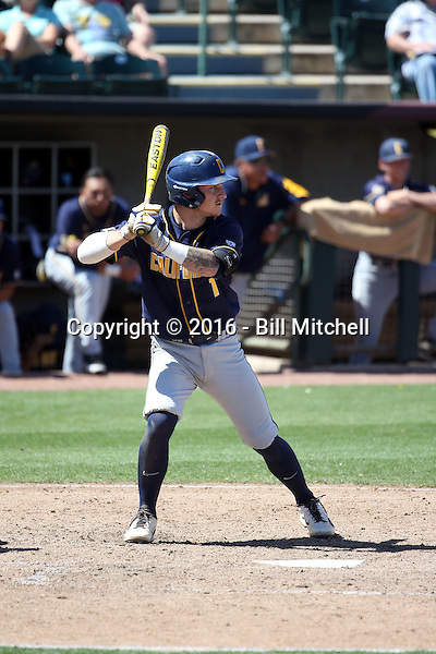 Robbie Tenerowicz - 2016 California Golden Bears (Bill Mitchell)