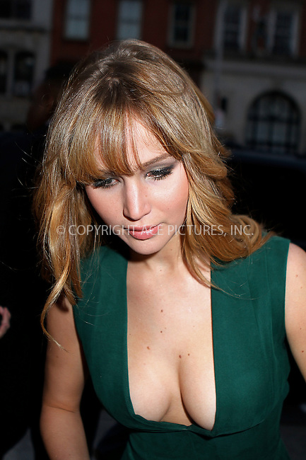 WWW.ACEPIXS.COM . . . . .  ....March 20 2012, New York City....Actress Jennifer Lawrence arriving at the Cinema Society screening of 'The Hunger Games' at SVA Theatre on March 20, 2012 in New York City.......Please byline: NANCY RIVERA- ACEPIXS.COM.... *** ***..Ace Pictures, Inc:  ..Tel: 646 769 0430..e-mail: info@acepixs.com..web: http://www.acepixs.com