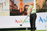 Steve Webster (ENG) in action on the 16th tee during Day 1 Thursday of the Open de Andalucia de Golf at Parador Golf Club Malaga 24th March 2011. (Photo Eoin Clarke/Golffile 2011)