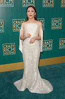 HOLLYWOOD, CA - AUGUST 7: Constance Wu at the premiere of Crazy Rich Asians at the TCL Chinese Theater in Hollywood, California on August 7, 2018. <br /> CAP/MPI/DE<br /> &copy;DE//MPI/Capital Pictures