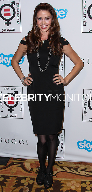 "BEVERLY HILLS, CA - NOVEMBER 04: Actress Shannon Elizabeth arrives at the Equality Now Presents ""Make Equality Reality"" Event held at the Montage Beverly Hills on November 4, 2013 in Beverly Hills, California. (Photo by Xavier Collin/Celebrity Monitor)"