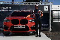 16th November 2019; Circuit Ricardo Tormo, Valencia, Spain; Valencia MotoGP, Qualifying Day; Marc Marquez at BMW M award for winning the 2019 rider title - Editorial Use