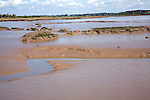Mud flats and creeks low tide River Deben, Hemley, Suffolk