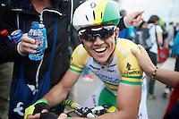 race winner: Simon Gerrans (AUS/Orica-GreenEDGE)<br /> <br /> Liège-Bastogne-Liège 2014
