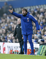Chelsea s Antonio Conte in action during the premier league match at Goodison Park Stadium, Liverpool. Picture date 23nd December 2017. Picture credit should read: David Klein/Sportimage PUBLICATIONxNOTxINxUK  <br /> Premier League 2017/2018 <br /> Foto Imago / Insidefoto